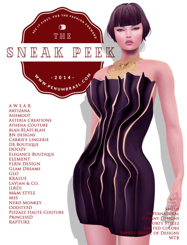 Sneak Peek April Round Poster 1
